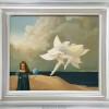"""Little Girl"" Original Oil on Canvas by Michael Parkes"