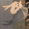 """""""Dreaming"""" Original Oil on Canvas by Michael Parkes"""