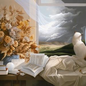 """Still Life"" Fine Art on Canvas by Michael Parkes"