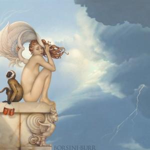 """Summer Storm"" Fine Art Edition on Canvas by Michael Parkes"