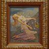 """""""Pandora's Box"""" Original Oil on Board by Kinuko Y. Craft"""