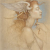 """""""Day Dreaming"""" Original Oil on Canvas by Michael Parkes"""