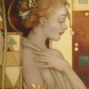 """""""Reflections"""" Fine Art Edition on Paper by Michael Parkes"""