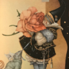 """""""Rose Collector"""" Original Oil on Canvas by Michael Parkes"""