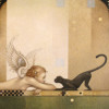 """See No Evil"" Original Oil on Canvas by Michael Parkes"