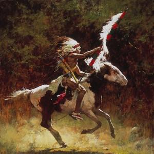 Sioux Flag Carrier
