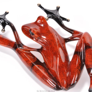 """""""Stealth"""" Bronze Sculpture by Tim Cotterill """"Frogman"""""""