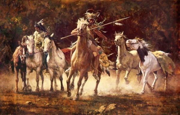The Captured Ponies