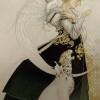 """The Letter Study"" Original Oil on Canvas by Michael Parkes"