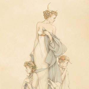 """Three Graces"" Fine Art Edition on Paper by Michael Parkes"