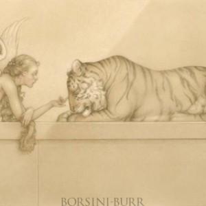 """Tiger, Tiger"" Original Oil on Canvas by Michael Parkes"