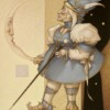 """Moon Minders """"New Moon"""" Fine Art Edition on Canvas by Michael Parkes"""