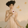 """""""I Give You My Heart"""" Original Oil on Canvas by Michael Parkes"""