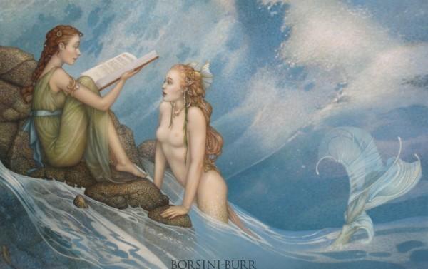 """Glass Slipper"" Original Oil on Canvas by Michael Parkes"